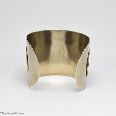 bracelet etain Filitosa arrière