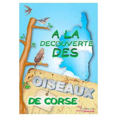 Plaquette enfant : À la découverte des oiseaux de Corse